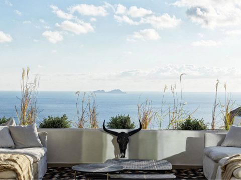 Panoptis Escape Mykonos - The Panoptis 3-bedroom in-house Villa with private pool view
